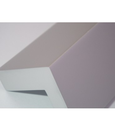 Poignée de meuble finition argent mat