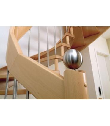 Boule départ de rampe d'escalier